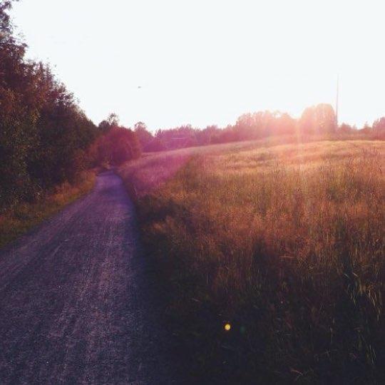 Bild på solnedgång från Isabell